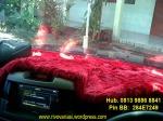Bulu / Selimut Dashboard Merah = Rp 175.000