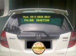 Rear Spoiler Jazz model Mugen = Rp 425.000