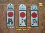 Emblem Bendera Jepang = Rp 40.000