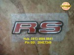 Emblem RS original All New Jazz / Jazz RS = Rp 95.000