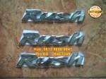 Emblem Rush = Rp 55.000