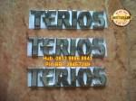 Emblem Terios = Rp 55.000