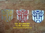 Emblem Transformer Warna = Rp 40.000