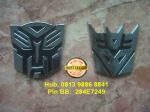 Emblem Transformer Autobot / Decepticon = Rp 40.000