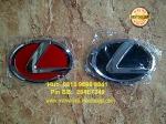 Logo Lexus Merah / Hitam 14cm = Rp 115.000