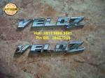 Emblem Veloz = rP 55.000