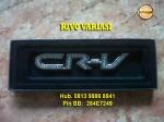 Emblem Berlian CRV = Rp 75.000